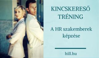 Kincskereső Tréning - A HR szakma továbbképzése!